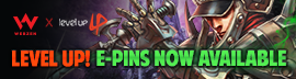 [C9] Notice - Level Up E-pins now available