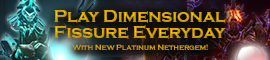 [C9] Sales - Play Dimensional Fissure Everyday with New Platinum Nethergem!