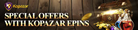 [C9] Notice - Get awesome prizes by topping up with KOPAZAR Epins!