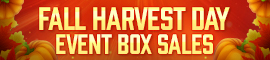 [C9] Sales - Fall Harvest Day Box Sales!