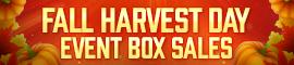 [C9] Sales - Fall Harvest Day Box Sales!