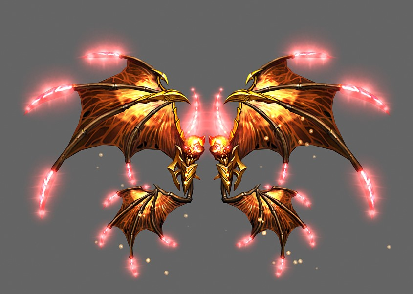 Flame God's Wings
