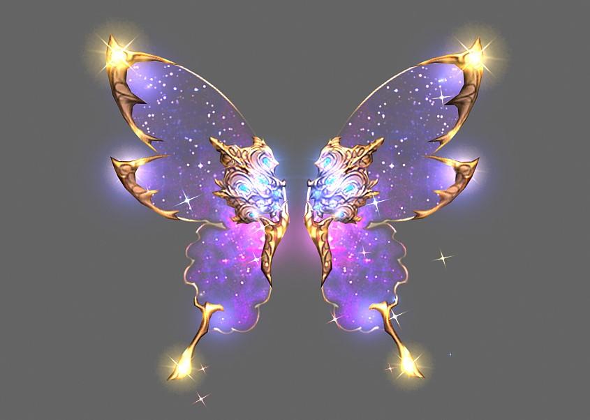 Celestial Body's Wings