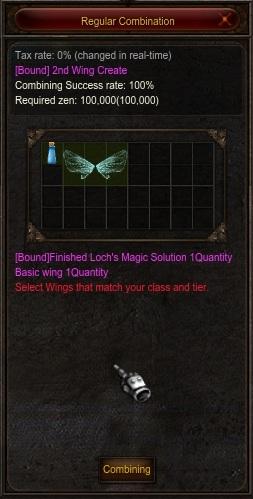 Combine Wings 2